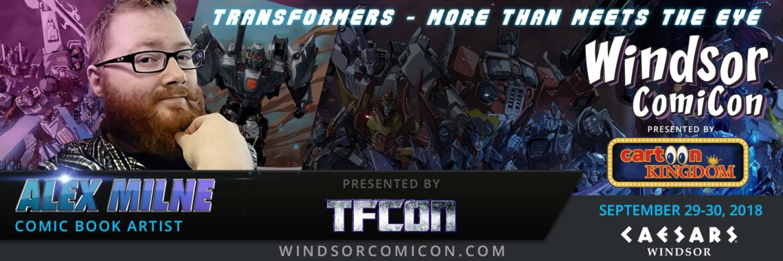 Comic book artist Alex Milne to attend Windsor ComiCon 2018