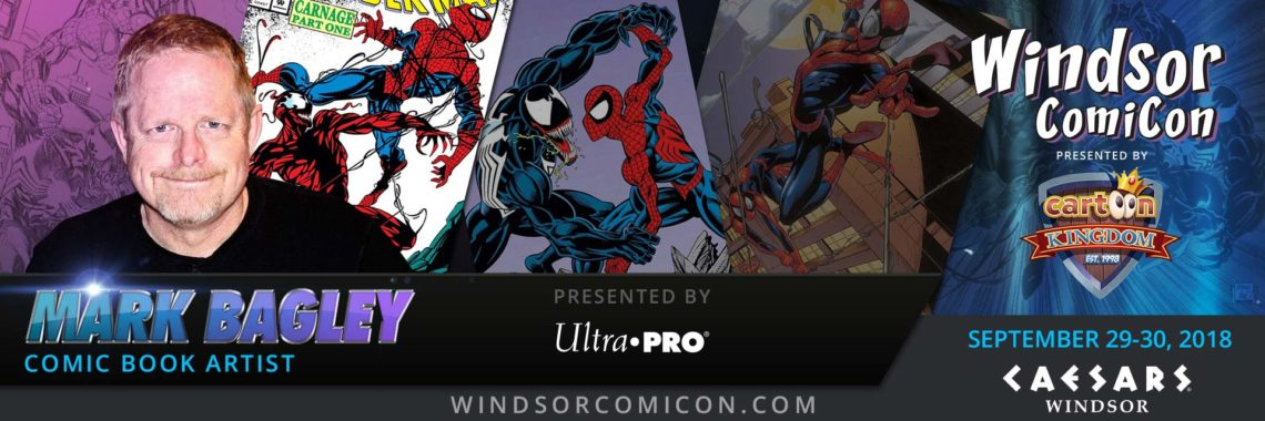 Comic book artist MARK BAGLEY to attend Windsor ComiCon 2018