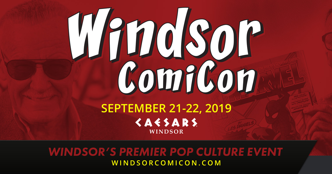 Windsor ComiCon 2019 announced for September 21-22