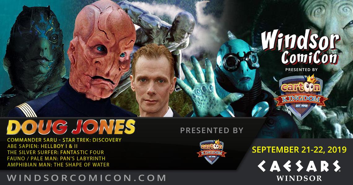 Actor DOUG JONES to attend Windsor ComiCon 2019