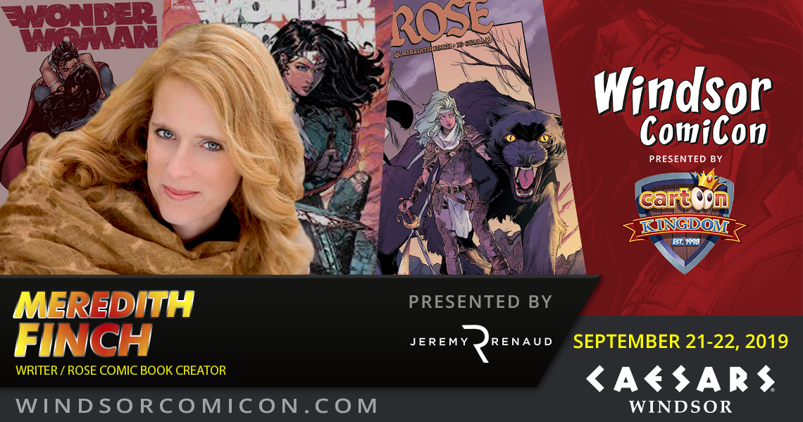 Comic book writer Meredith Finch to attend Windsor ComiCon 2019