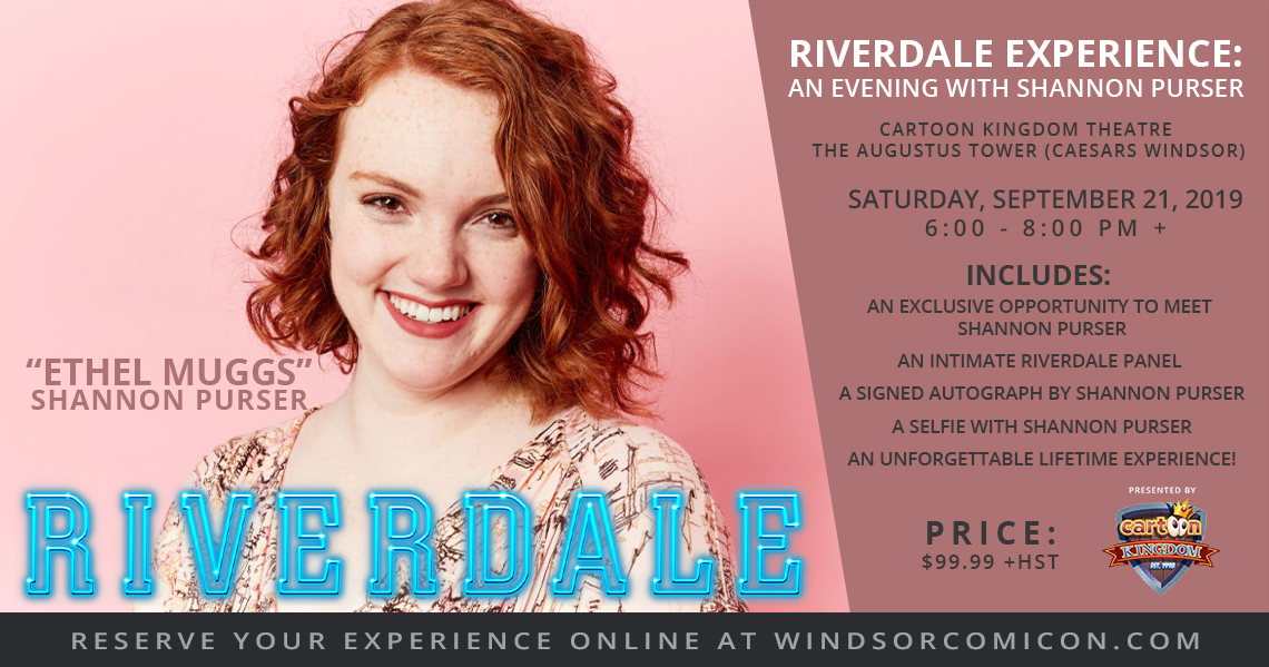 Riverdale Experience: An Evening with Shannon Purser