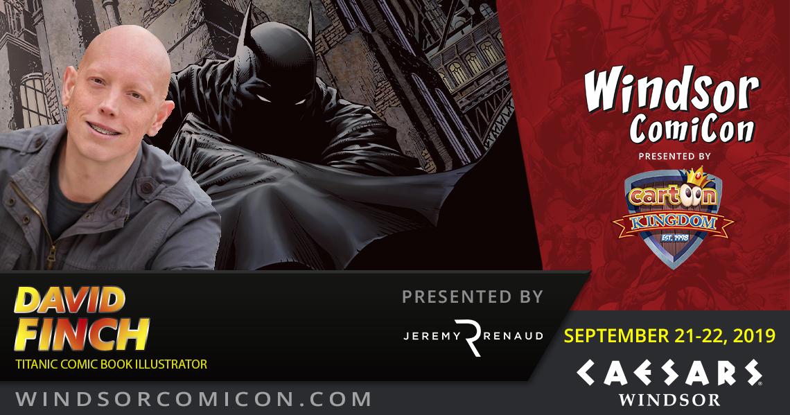 Comic book artist David Finch to attend Windsor ComiCon 2019