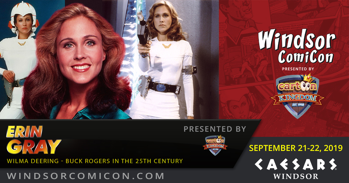 Actor Erin Gray to attend Windsor ComiCon 2019