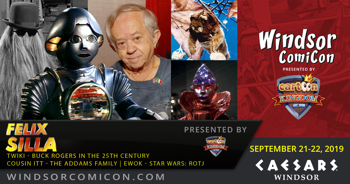 Buck Rogers actor Felix Silla to attend Windsor ComiCon 2019