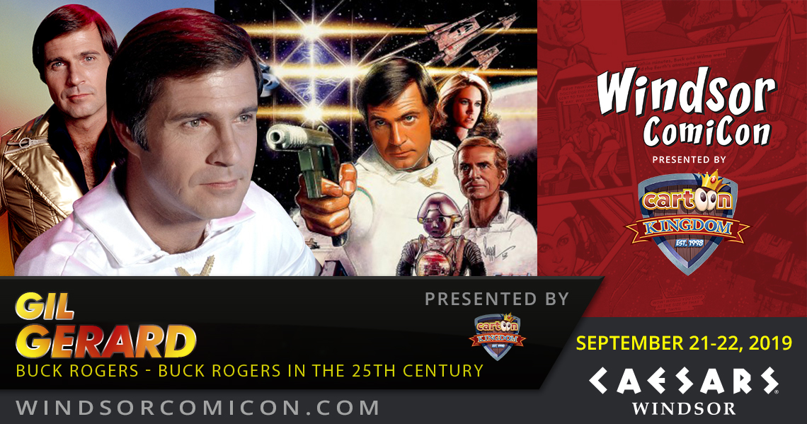 Buck Rogers Actor Gil Gerard to attend Windsor ComiCon 2019