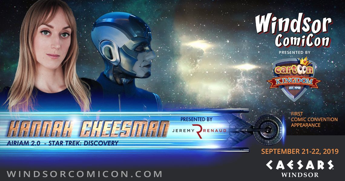 Star Trek Discovery actor Hannah Cheesman to attend Windsor ComiCon 2019