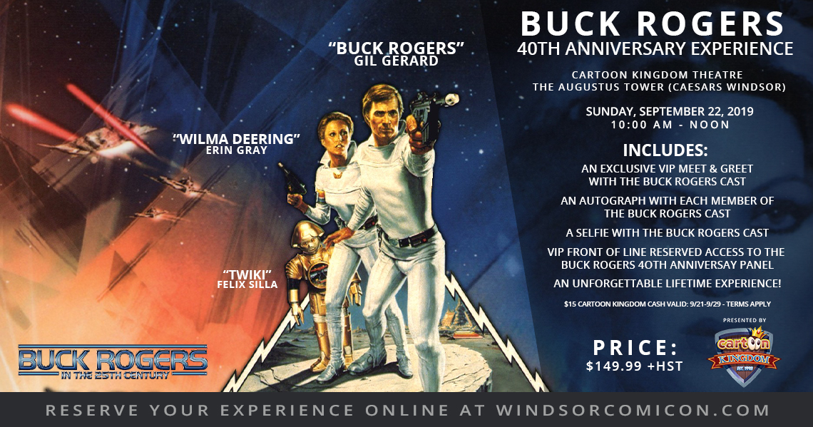 Buck Rogers 40th Anniversary Experience