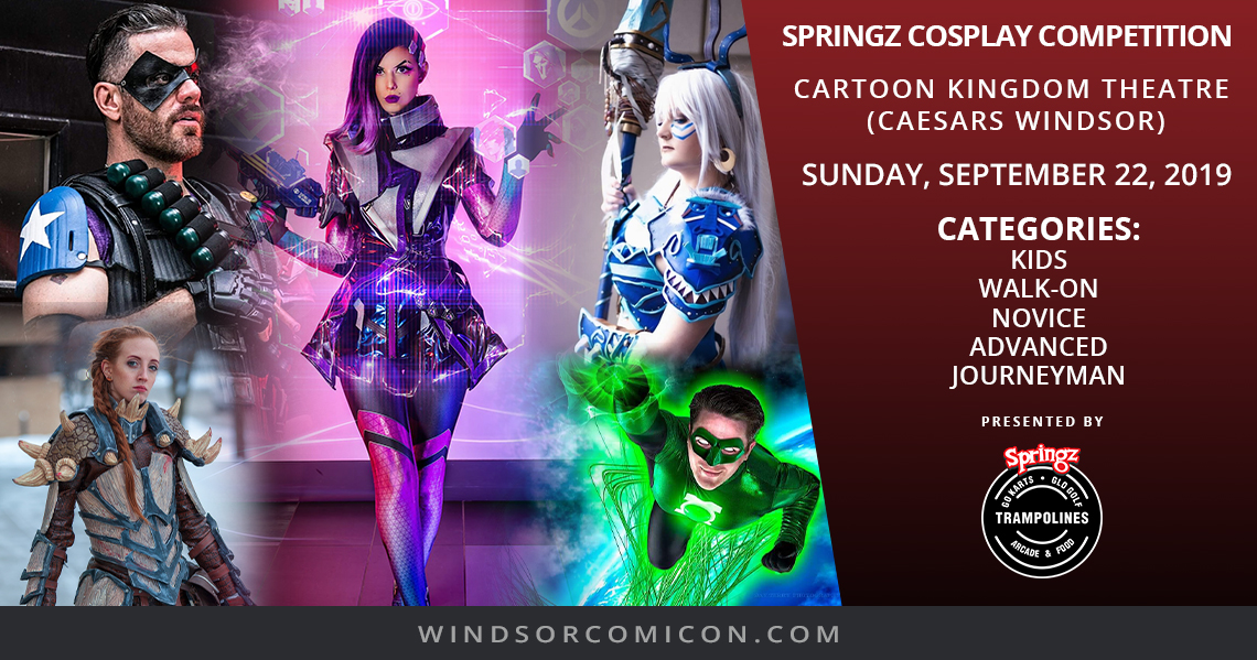 WINDSOR COMICON LAUNCHES SPRINGZ COSPLAY CONTEST AND PROGRAM