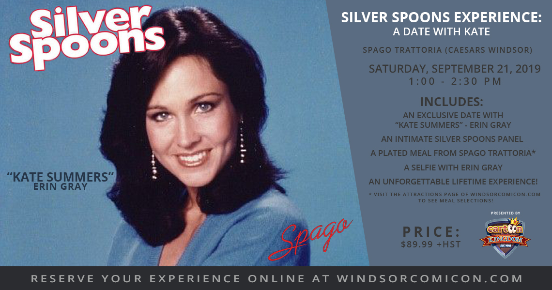 Silver Spoons – A Date with Kate Experience