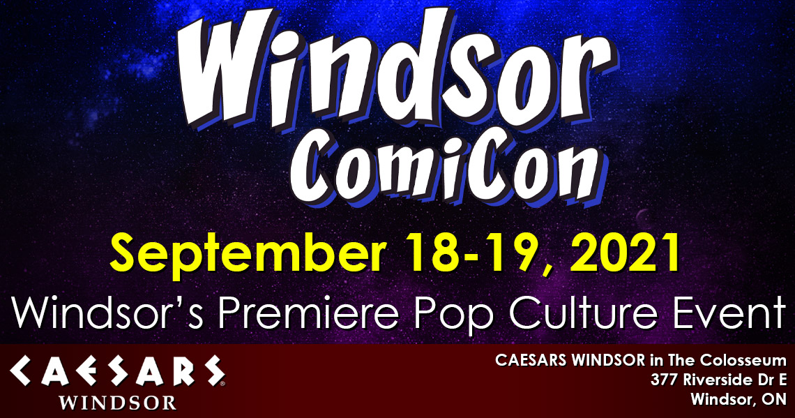 Windsor ComiCon 2021 announced for September 18-19