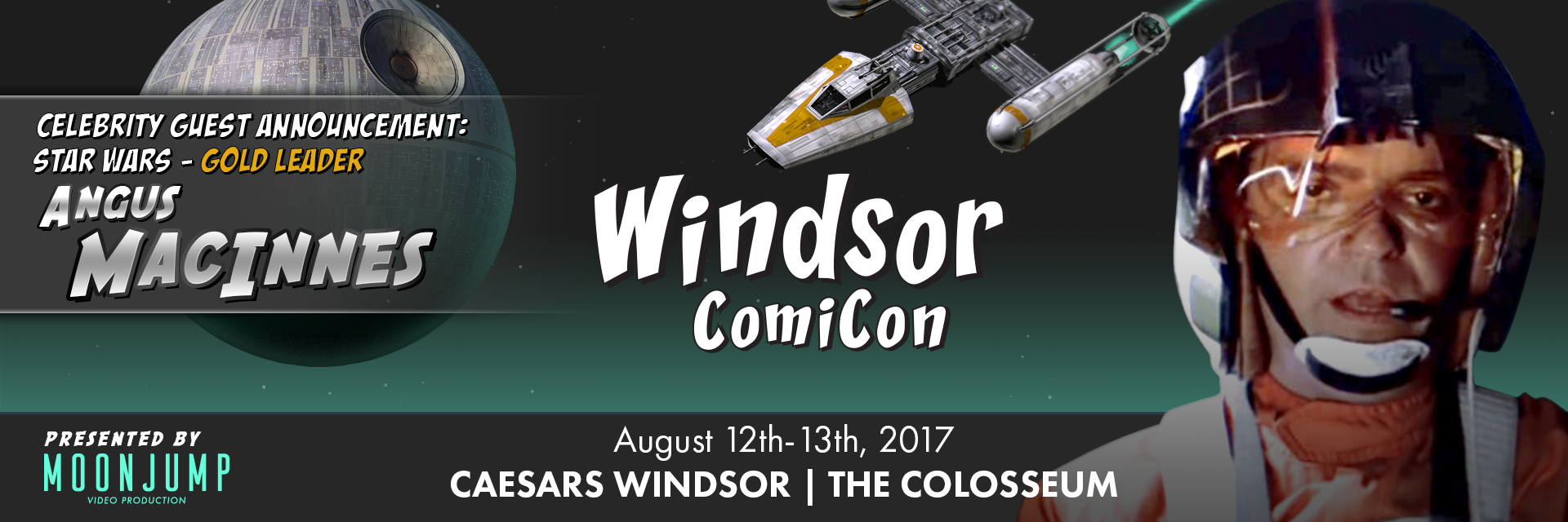Angus Macinnes from Star Wars to attend Windsor ComiCon 2017